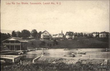 Lake Rip Van Winkle, Tannersville, Catskill Mts, NY